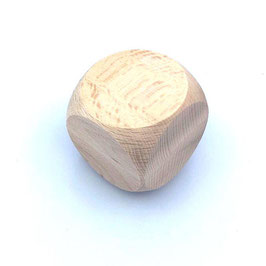 Holzwürfel 60 mm