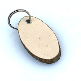 Haselnuss-Baumscheibe, Oval