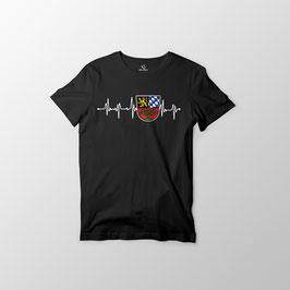 """Herren T-Shirt """"Herzschlag Weiden"""""""