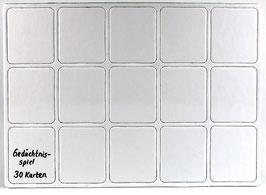 MEMO Gedächtnisspiel 30 Teile