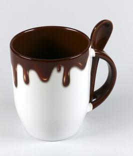 """Löffeltasse """"Schokolade"""""""