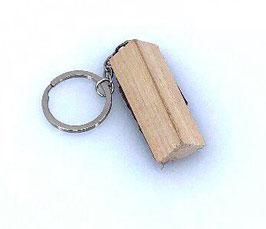 """Schlüsselanhänger """"Holzscheit"""""""