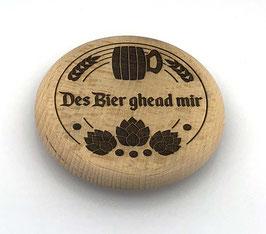 """Bierdeckel """"Des Bier ghead mir"""""""