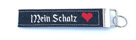 """Filz-Schlüsselanhänger """"Mein Schatz"""""""