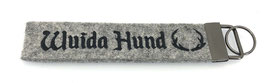 "Filz-Schlüsselanhänger ""Wuida Hund"""