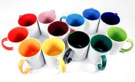 Haferl-Tasse, farbig