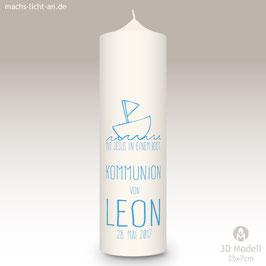 Kommunionkerze MLA Leon