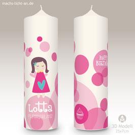Geburtstagskerze MLA Lotta