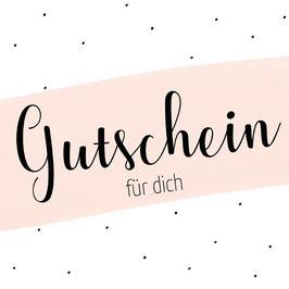 MLA Gutschein