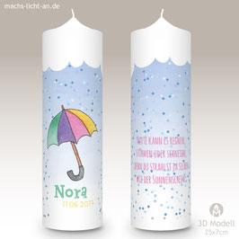 Geburtstagskerze MLA Nora