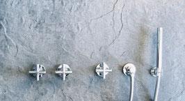 Unterputz Badewannenarmatur TAVUS ohne Auslauf