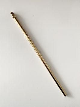 Kupferrohr, Durchmesser 10mm, Länge 350mm. Zum Anschluss von Badarmaturen oder zur Verlängerung