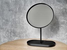 Minimalistischer Kosmetik Spiegel OXO mit Ablage