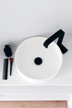 1-Loch Design-Waschtischarmatur ANDREW