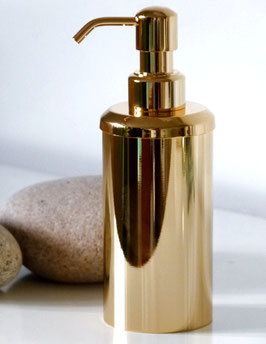 Exklusiver Design-Seifenspender 24 Karat vergoldet