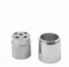 Verlängerung für OXO II Unterputz-Waschtischarmatur u. Dusche ohne Umsteller (175 mm/250 mm Auslaufvariante)