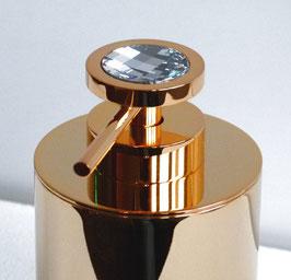 Exklusiver Design-Seifenspender DAUPHIN mit SWAROVSKI Elements Kristall