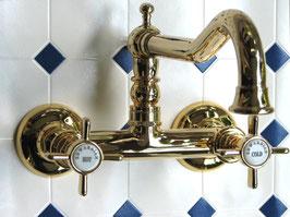 Aufputz Waschtisch- oder Küchenarmatur EDWARDIAN