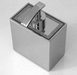 Exklusiver Design-Seifenspender chrom mit SWAROVSKI Elements Kristall