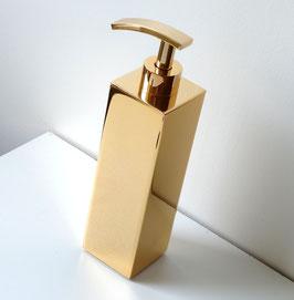 """Exklusiver Design-Seifenspender """"ENTOURAGE-II"""", 24 Karat vergoldet"""