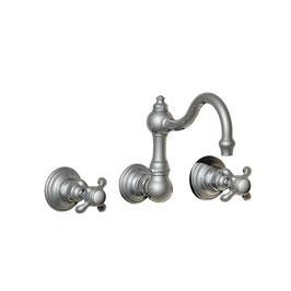 3-Loch Unterputz Waschtisch/Küchen Armatur MONTMARTRE schwenkbarer Auslauf