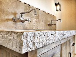 Aufputz Wand-Küchen-/Waschtischarmatur NEW ENGLAND