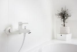 Aufputz Badewannenarmatur OXO mit Handbrause