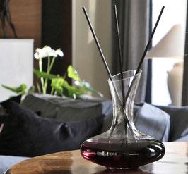 Sehr dekorativer XL-Raumduft Diffusor, in Form eine eleganten Wein Dekanter`s