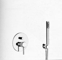 Unterputz Badewannenarmatur OXO II, ohne Auslauf.