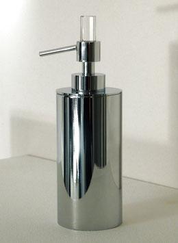 """Design Seifenspender, mit SWAROVSKI Elements Kristall, Serie """"DAUPHIN"""", Farbe Chrom"""