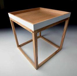 Design Beistelltisch mit abnehmbarem Tablett