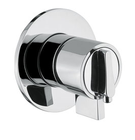 Unterputz Thermostat Dusch-Armatur OXO TEMP, ein Abgang
