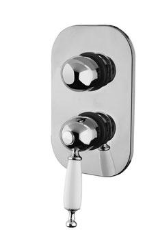 Unterputz Badewannen-/Duscharmatur mit 3-Wege-Umstellerventil BRIGHTON