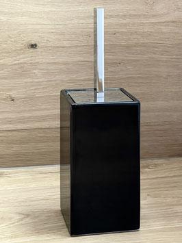 Design WC-Bürstengarnitur, bodenstehend, schwarz/chrom  - SALE%