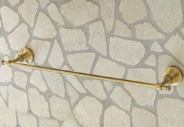 Nostalgischer Handtuchhalter, 55 cm, Bronze/Altmessing - SALE %