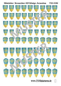 1:72 Mittelalter Kreuzritter #05 Orden Jerusalem     TSS 187