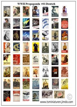 1:72 WWII Propaganda Plakate #01 Deutschland