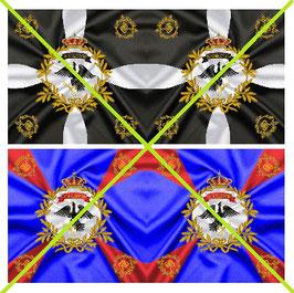 1:32 Flag Napoleon Preußen Infanterie #05
