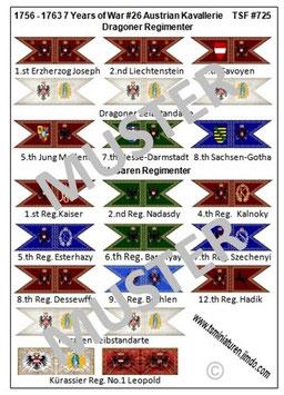 1:72 7 Jähriger Krieg #26 Österreich Kavallerie