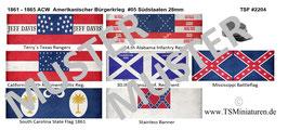 28mm American Civil War #05 Südstaaten