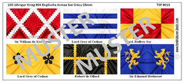 28mm Mittelalter Die Schlacht von Crécy #04 England