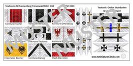 1:72 Mittelalter Teutonic Banner #04