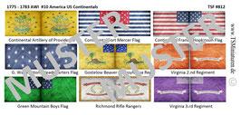 1:72 AWI Amerikanischer Unabhängigkeitskrieg #10 US Continentals