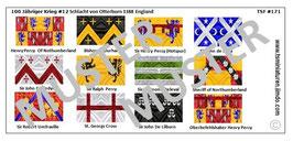 1:72 Mittelalter 100 Jähriger Krieg #12 Otterburn Englische Ritter