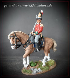 1:32 / 54mm British mounted Line Officer #01