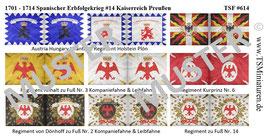 1:72 Spanischer Erbfolgekrieg #14 Kaiserreich Preußen