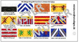 1:72 Mittelalter 100 Jähriger Krieg #04 Crécy Französische Ritter