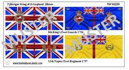 28mm 7 Jähriger Krieg #19 England