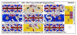 1:72 7 Jähriger Krieg #11 England