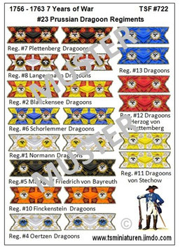 1:72 7 Jähriger Krieg #23 Preußen Kavallerie